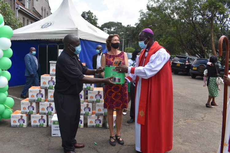 Archbishop Calls for Reduced Dependency on Wood Fuel, Launches Energy-Efficient Cookstove